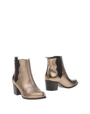 Полусапоги и высокие ботинки ANDREA CATINI. Цвет: платиновый