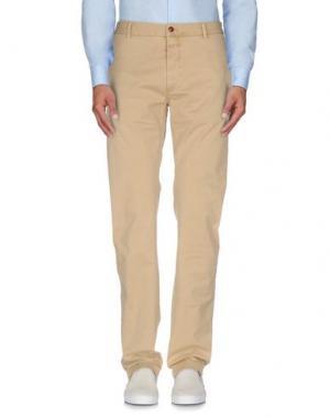 Повседневные брюки CLOSED. Цвет: песочный
