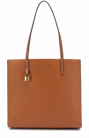Сумка-тоут  Grind Shopper Marc Jacobs. Цвет: коричневый