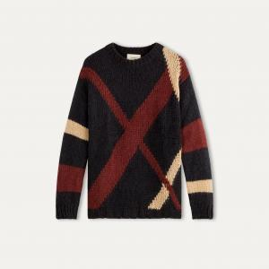 Пуловер MYDAR BA&SH. Цвет: темно-синий