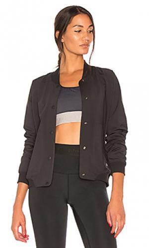 Двусторонняя куртка-бомбер b ball Splits59. Цвет: черный