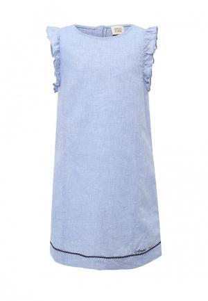 Платье Armani Junior. Цвет: голубой