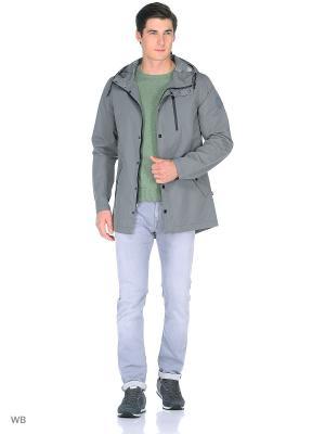 Куртка Men of all nations. Цвет: серый