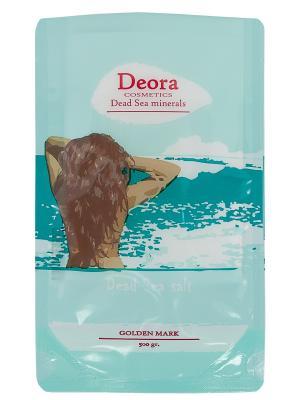 Cоль мертвого моря, 500 мл. Deora Cosmetics. Цвет: бежевый