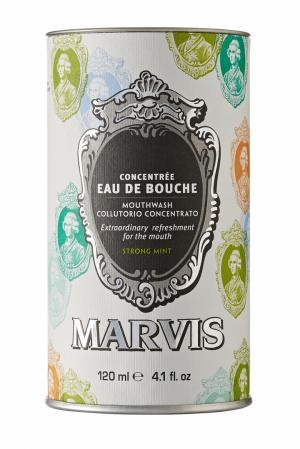 Ополаскиватель для полости рта «Мята» 120ml Marvis. Цвет: без цвета