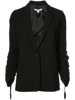 Пиджак с присборенными рукавами Myria Elizabeth And James. Цвет: чёрный