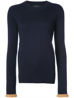 Классический свитер Derek Lam. Цвет: синий