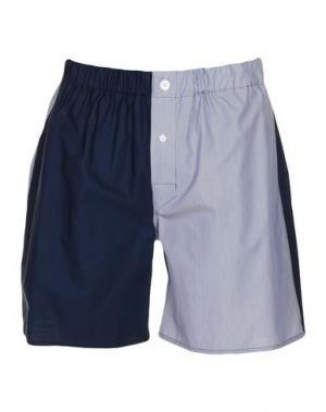 Пляжные брюки и шорты EMMA WILLIS. Цвет: темно-синий