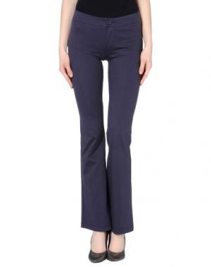 Повседневные брюки TROU AUX BICHES. Цвет: темно-синий