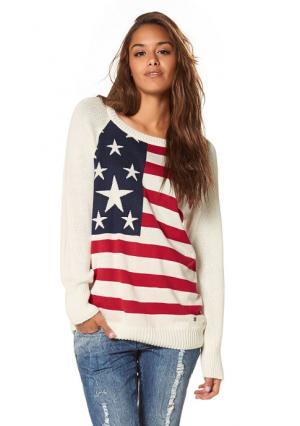 Пуловер AJC. Цвет: синий