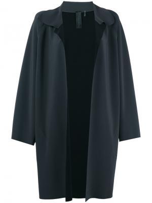 Пальто Pewter Norma Kamali. Цвет: серый