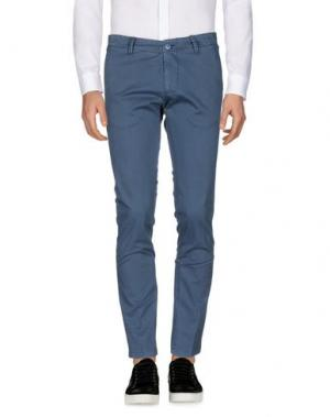 Повседневные брюки DIMATTIA. Цвет: грифельно-синий