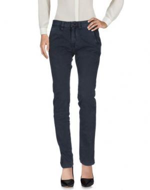 Повседневные брюки RA-RE. Цвет: синий
