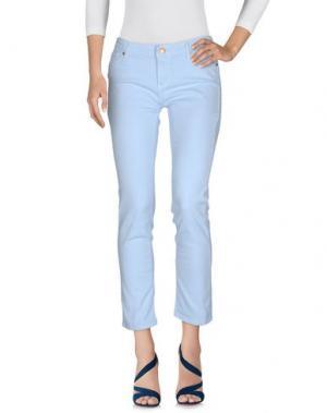 Джинсовые брюки DES PETITS HAUTS. Цвет: небесно-голубой