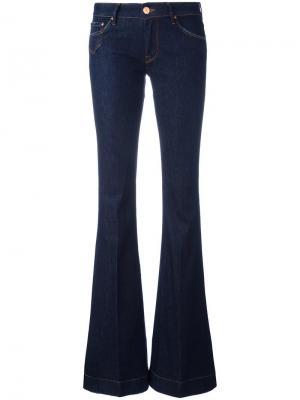Классические слегка расклешенные джинсы Dont Cry Don't. Цвет: синий
