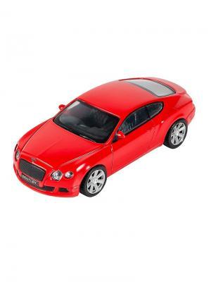 Машинка Bentley Continental GT, Красная (1:43) (PS-0616407-R) Pit Stop. Цвет: красный