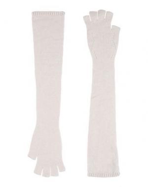 Перчатки GENTRYPORTOFINO. Цвет: слоновая кость