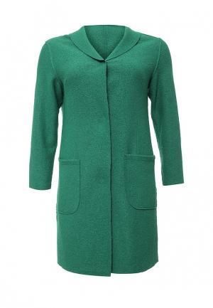 Пальто W&B. Цвет: зеленый