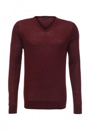 Пуловер Rodier. Цвет: бордовый