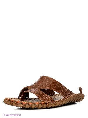 Тапочки Nexpero. Цвет: коричневый