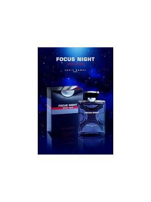 Туалетная вода FOCUS NIGHT SPORT EDT MEN LOUIS VAREL. Цвет: прозрачный