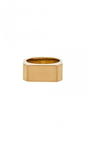 Кольцо tex Amber Sceats. Цвет: металлический золотой