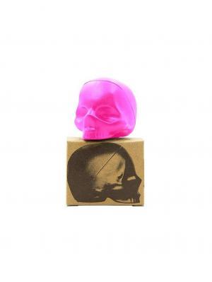 Бальзам для губ Rebels Refinery фруктовый микс череп фуксия 5,5 г. Цвет: фуксия