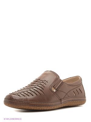 Туфли WESTFALIKA. Цвет: коричневый