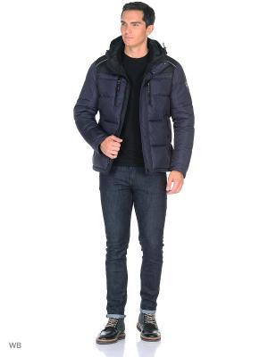 Куртка SNOWIMAGE. Цвет: темно-синий