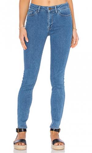 Узкие джинсы farrow DL1961. Цвет: none