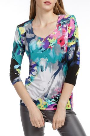 Блуза Georgede. Цвет: мультицвет