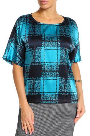 Блуза UNQ. Цвет: мультицвет