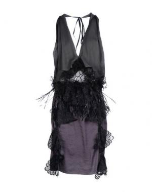 Платье до колена LOYD/FORD. Цвет: свинцово-серый