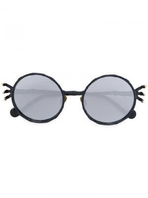 Солнцезащитные очки  Claw Anna Karin Karlsson. Цвет: чёрный