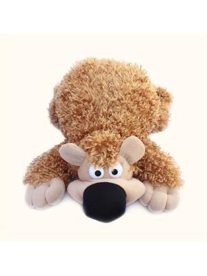 Мягкая игрушка Медведь Веселунчик, Malvina. Цвет: рыжий