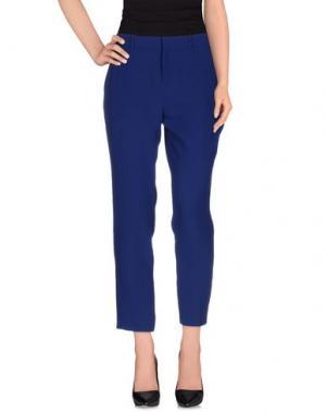 Повседневные брюки JOIE. Цвет: синий
