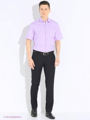 Рубашка Imperator. Цвет: сиреневый