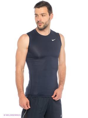 Майка COOL COMP SL Nike. Цвет: темно-синий