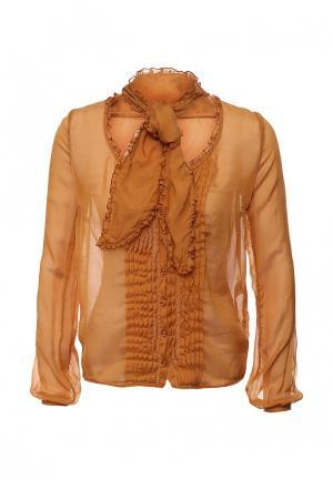 Блуза Nolita. Цвет: оранжевый