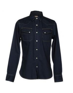 Джинсовая рубашка KAPITAL. Цвет: темно-синий