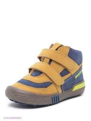 Ботинки Bartek. Цвет: светло-коричневый