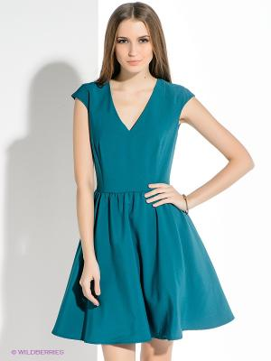 Платье Befree. Цвет: морская волна