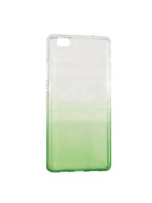 Крышка задняя для Huawei P8 Lite Силикон IQ Format. Цвет: зеленый