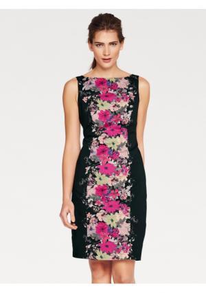 Платье Ashley Brooke. Цвет: черный/ярко-розовый