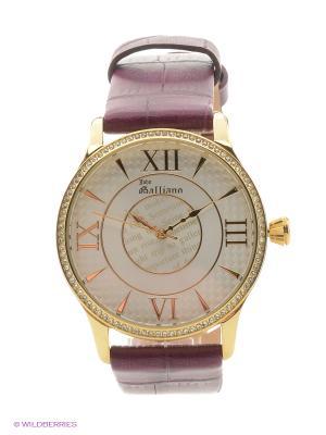 Часы наручные Galliano. Цвет: бордовый