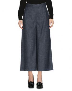 Повседневные брюки CAMICETTASNOB. Цвет: свинцово-серый