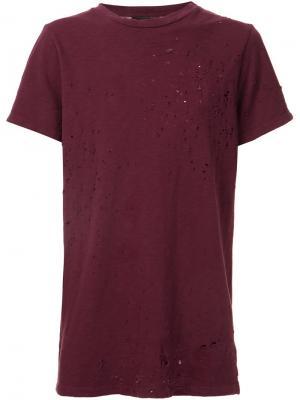 Shotgun T-shirt Amiri. Цвет: красный