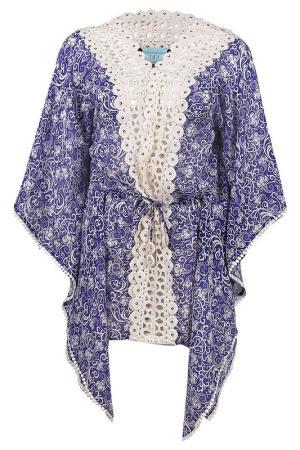 Блузка TAJ. Цвет: фиолетовый