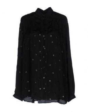 Pубашка HIGH. Цвет: черный