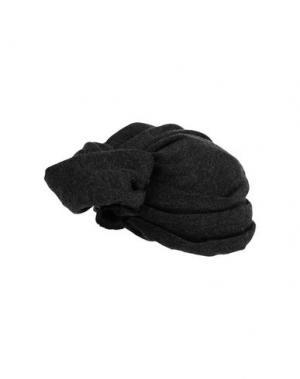Головной убор SUPER DUPER HATS. Цвет: стальной серый